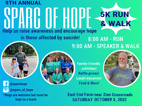 SPARC OF HOPE 5K