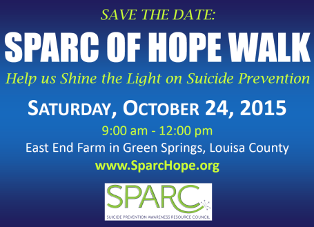 SPARC of Hope Walk